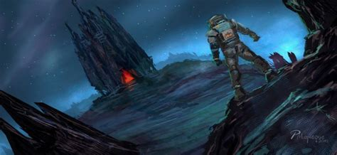 39 Concept Art and Illustrations of Astronauts | Concept