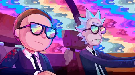 Rick And Morty Car Drive 4K HD Wallpapers   HD Wallpapers