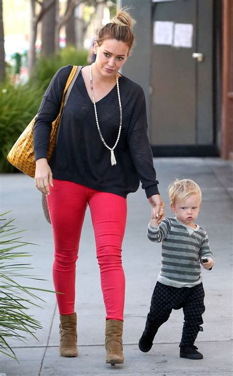 Hilary Duff and Son Luca Are Too Adorable: See the Pics