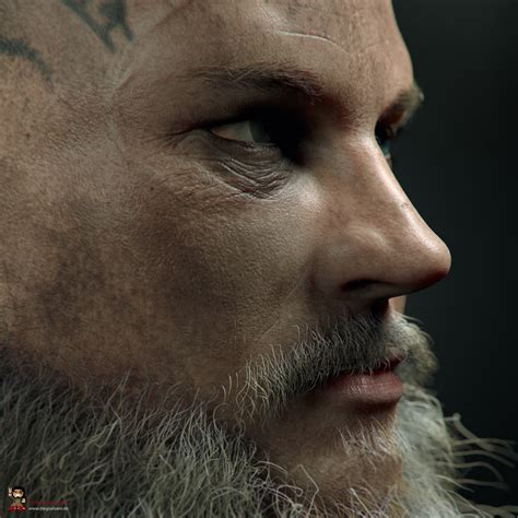 CGMEETUP - King Ragnar Lothbrok | Son of Odin by Diego
