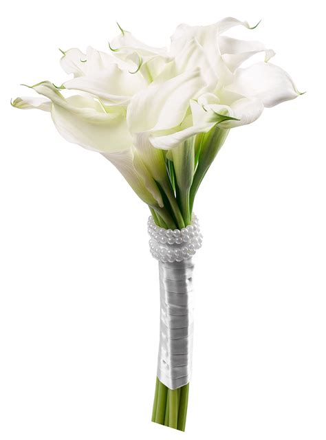Library of calla lily bouquet black and white svg royalty