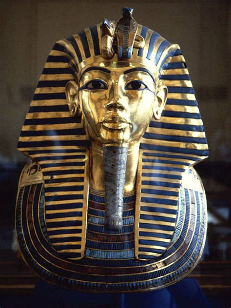 King Tut's Death Mask and Its Meaning
