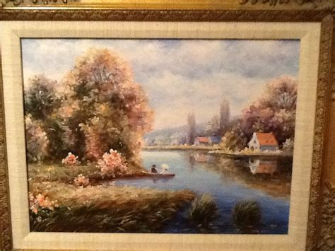Oil Painting On Canvas By S