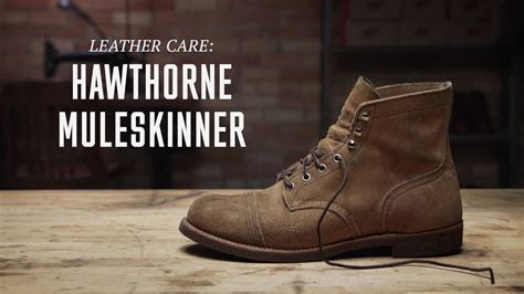 Red Wing Heritage - Hawthorne Muleskinner (Roughout